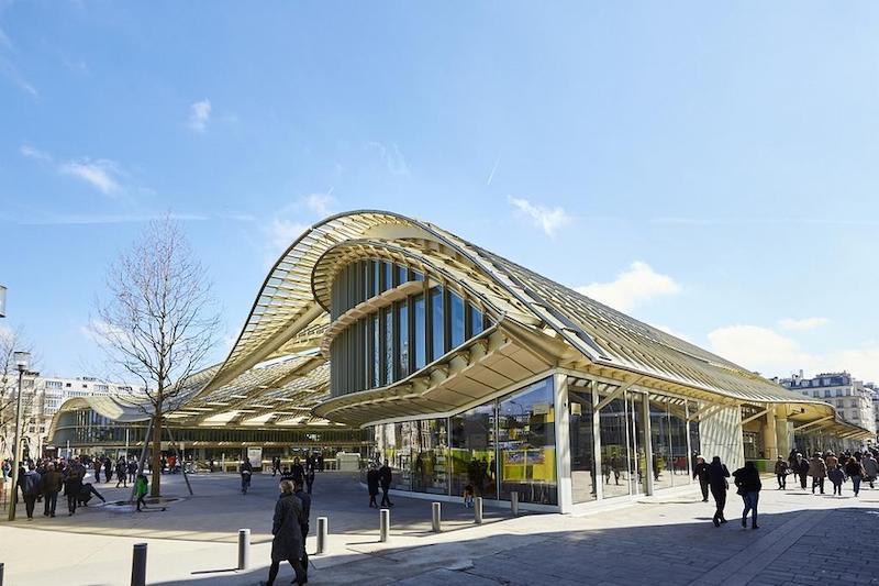 Shopping Forum des Halles em Paris