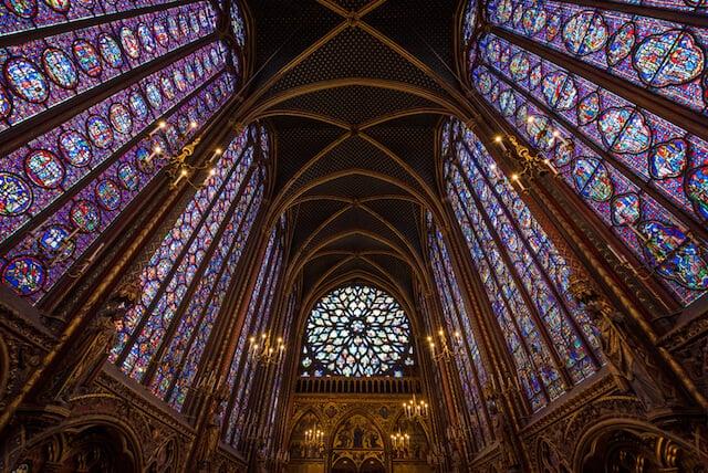 Saint Chapelle em Paris