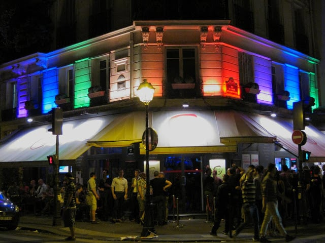 Lugares GLS e LGBT em Paris