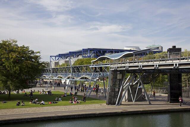 Parque La Villette em Paris