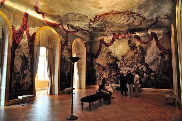 Sala decorada do Museu Carnavalet