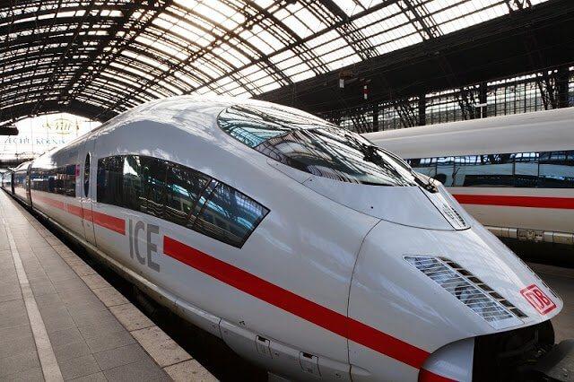 Viagem de trem de Paris a Berlim