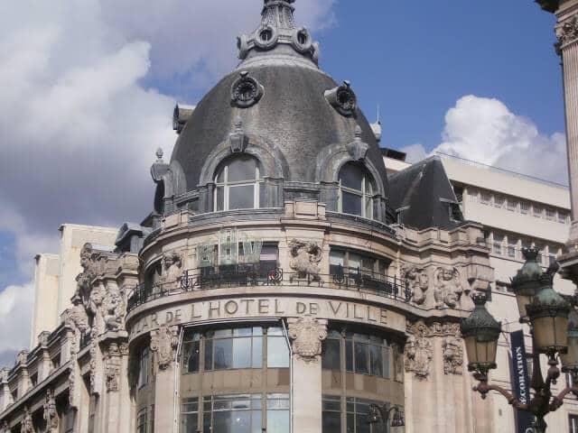 Loja de departamento Bazar de L'Hotel de Ville (BHV) em Paris