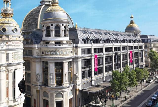 Loja de departamento Au Printemps em Paris