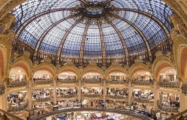 Loja de departamento Galerias Lafayette em Paris