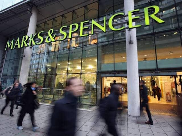 Loja de departamento Marks & Spencer em Paris