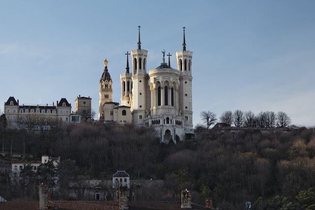 Bairro Fourvière em Lyon