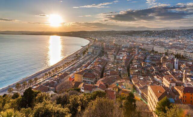 Clima e temperatura em Nice