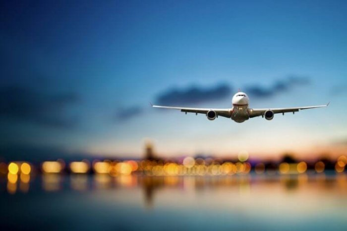 Avião em Paris