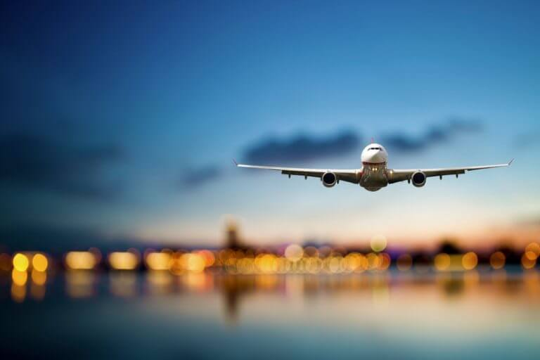 Avião em Avignon