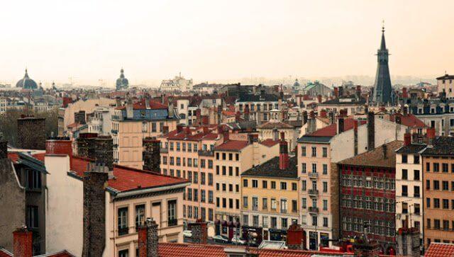 La Croix Rouge em Lyon