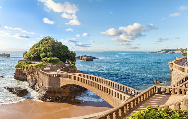 Biarritz na França