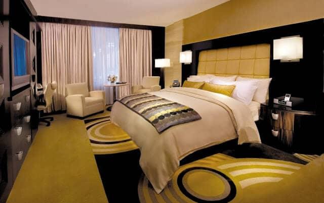 Quarto de hotel na França
