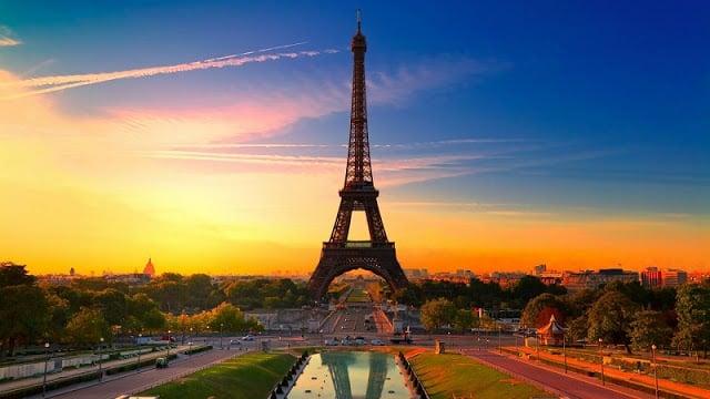 Place du Trocadero em Paris