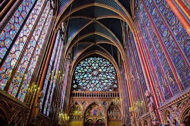 Sainte Chapelle em Paris