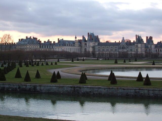 Palácio de Fontainebleau em Paris