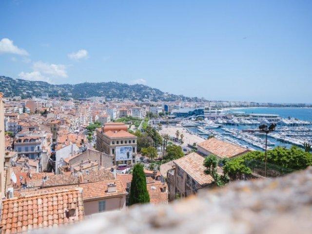 Mapa turístico de Cannes