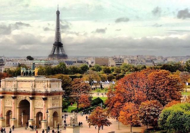 Outono na cidade de Paris