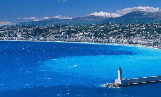 Cidades da Costa Azul da França