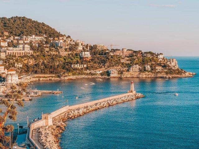Bela vista de Nice