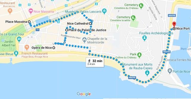 Roteiro de quatro dias em Nice