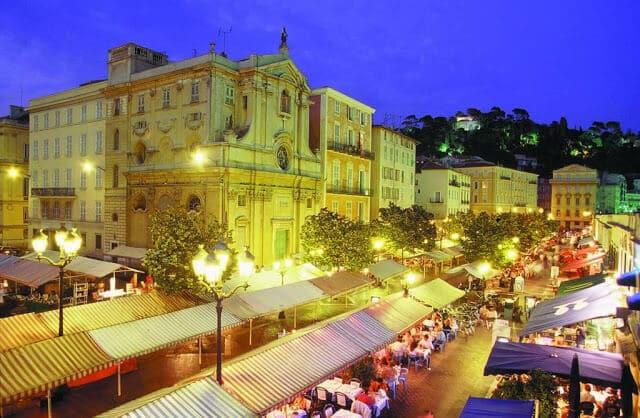 O que fazer à noite em Nice