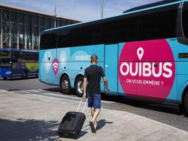 Ônibus Ouibus em Marselha