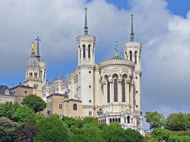 Notre Dame de Fourvière em Lyon
