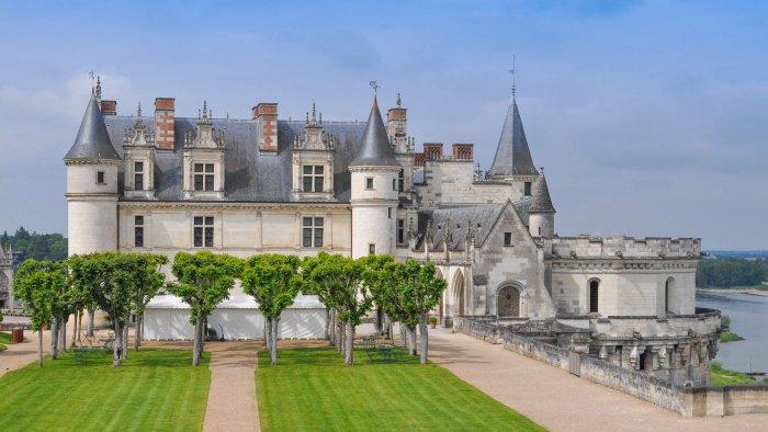 Exterior do Castelo de Amboise