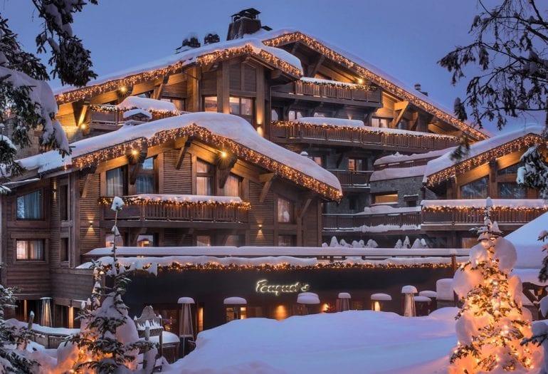 Hotel e restaurante em Courchevel