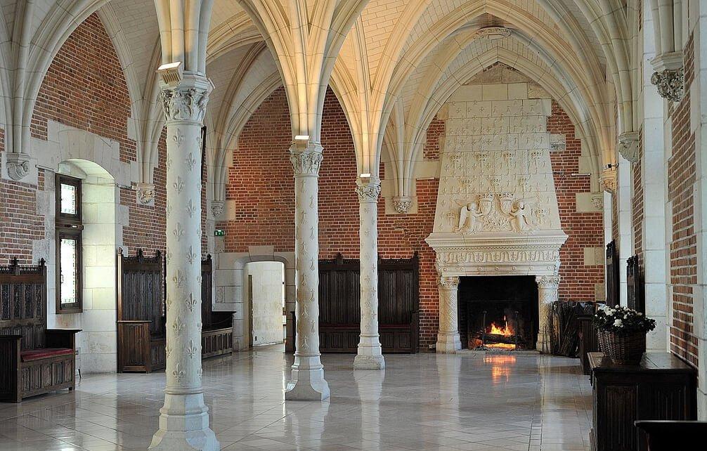 Interior do Castelo de Amboise