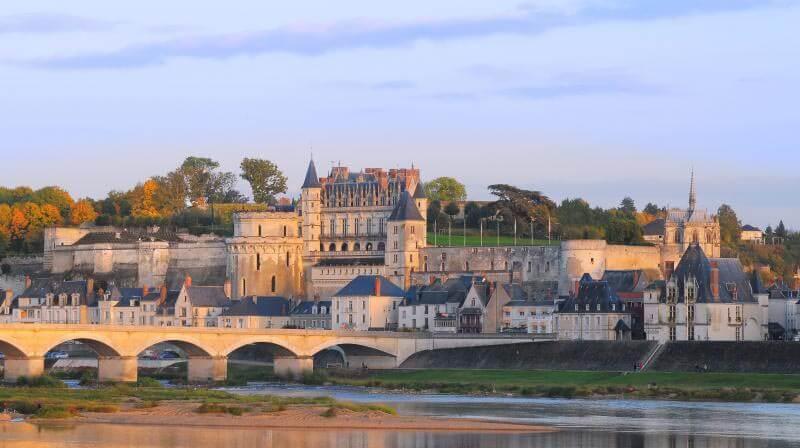 Vista do Castelo de Amboise