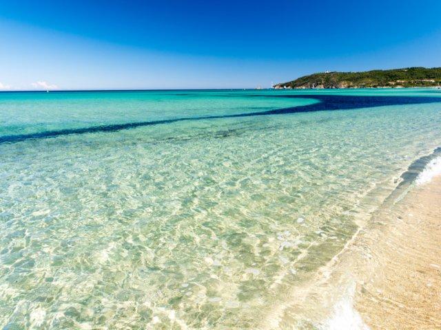 Praia de Pampelonne na França