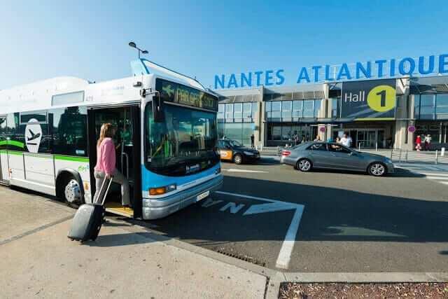 Como ir do aeroporto de Nantes até o centro turístico