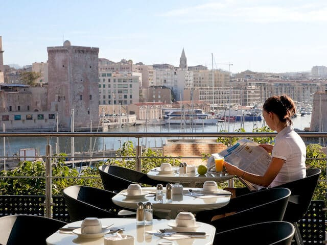 Hotéis de luxo em Marselha