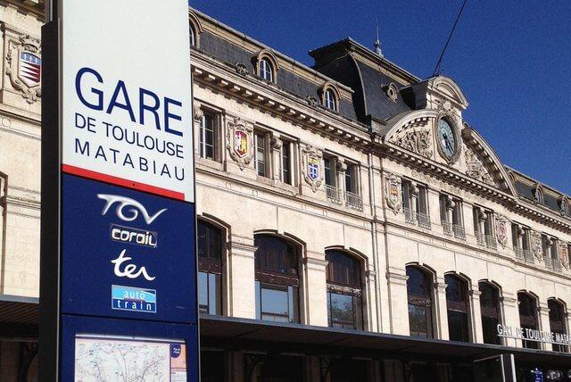 Viagem de trem de Bordeaux a Toulouse