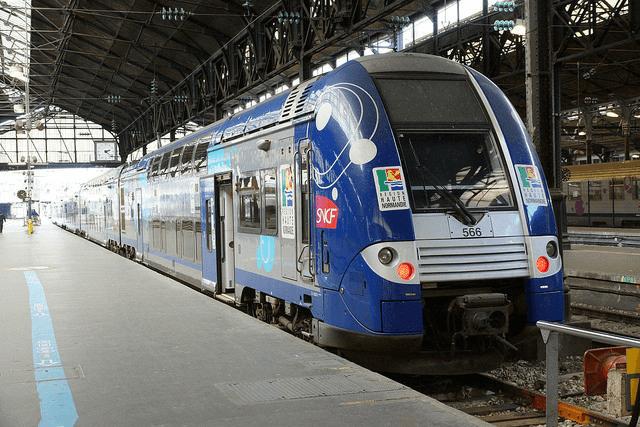 Viagem de trem de Le Havre a Paris