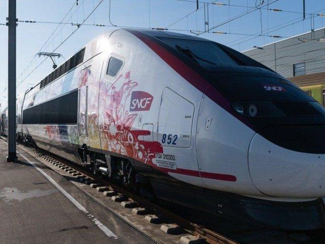 Viagem de trem de Bordeaux a Lourdes