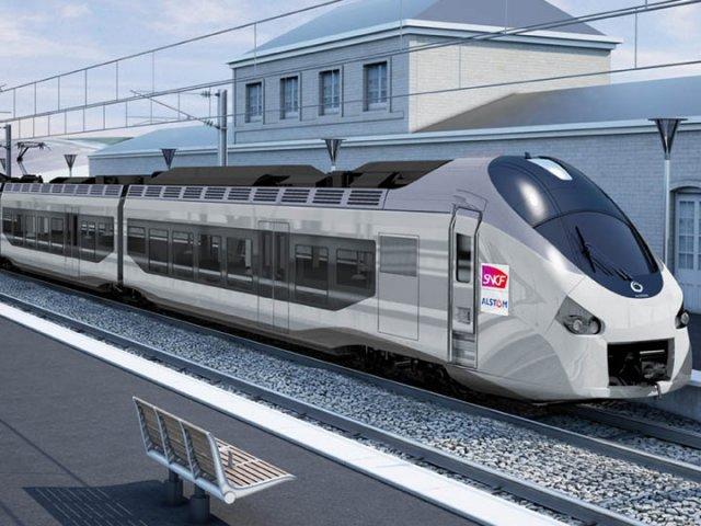 Viagem de trem de Lyon a Nice