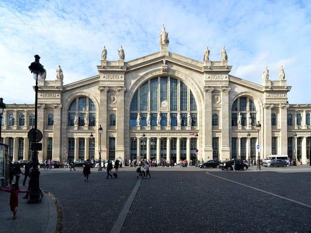 Viagem de trem de Paris a Roterdã