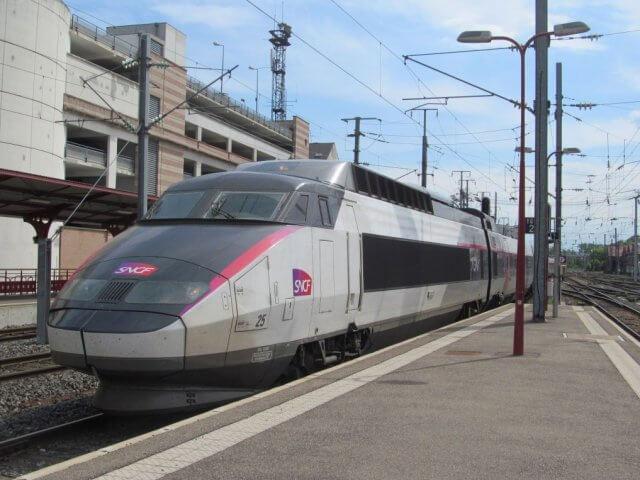 Viagem de trem de Paris a Saint Jean Pied De Port