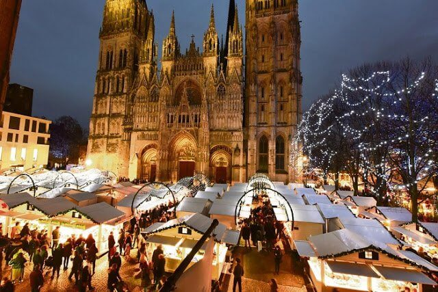 Mercados de Natal em Paris