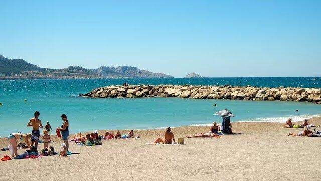 Melhores praias em Marselha