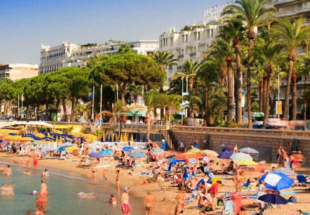 O que fazer no verão em Cannes