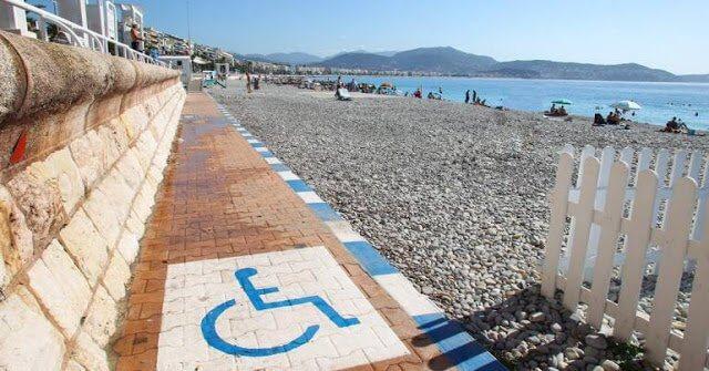 Deficientes físicos em Cannes