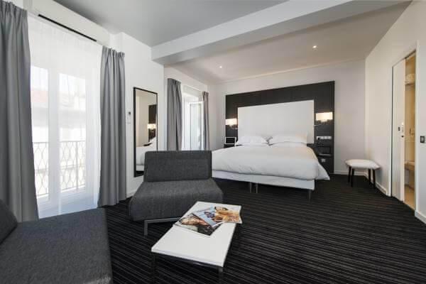 Hotéis no centro turístico de Nice
