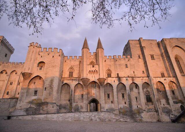 Pontos turísticos em Avignon