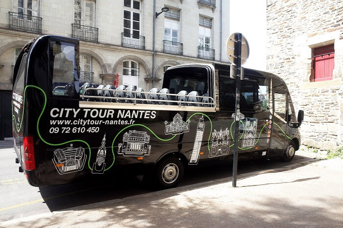 City Tour em Nantes de Ônibus Turístico