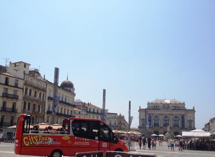 Onibus City Tour Montpellier