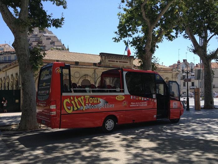 Ônibus Turístico City Tour Montpellier